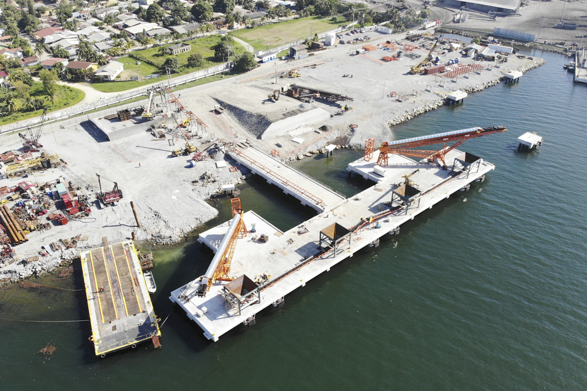 Muelle Agrecasa Puerto Cortés Honduras Obra Marítima Portuaria
